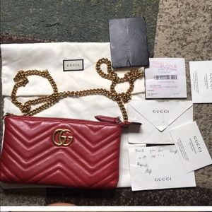 pre owned Gucci Marmont